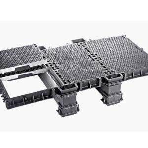 Registros estancos modulares de fundición